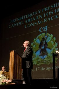Don Fernando Pellecer, Encargado General de nuestra Asociación, en su disertación.