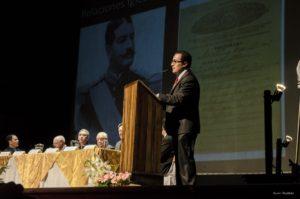 Lic. Mario Alvarado, Historiador de nuestra Asociación.