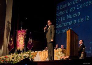 Profesor Juan Alberto Sandoval en su disertación